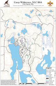 Northern Lights Map Camp Wilderness