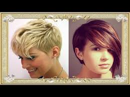 short haircuts for women 2017 2018 images tutorials youtube