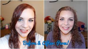 perms for fine hair before and after before after perm youtube