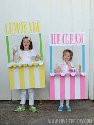 halloween costumes for kids pumpkin costume ideas for kids lemonade and ice cream stands by love the day