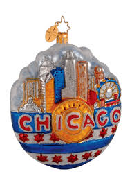 christopher radko my of ornament chicago ornament