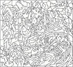free printable paint numbers for adults az coloring pages within