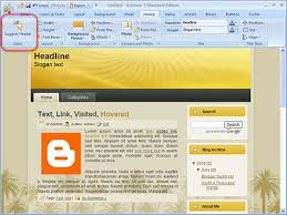 how to install free xml blogger template how to install custom