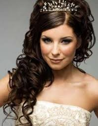 bridal curly hairstyle bridal prom hairstyle for long hair curly