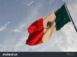 The Flag In Spanish Large Mexican Flag Spanish Bandera De Stock Foto 745130308
