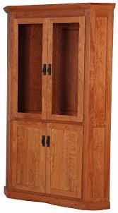 cherry wood corner cabinet mission corner cabinet solid wood corner cabinet