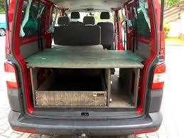 volkswagen caravelle trunk fahrzeugausbau camping multiflexboard alternative vw t5