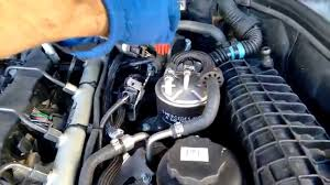 easy engine oil change mercedes c class w203 220 cdi diesel 3
