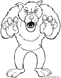 big bad wolf coloring pages printable