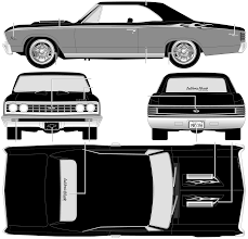 concept chevelle car blueprints 1967 chevrolet chevelle ss 396 coupe blueprint