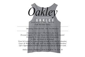 meaning of the name oakley is from the oak tree