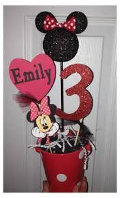 Centerpieces For Minnie Mouse Party by Reserved For Yiglesias 68 00 Via Etsy Liz U0027s Pinterest