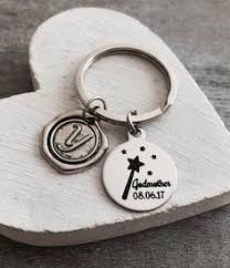 godmother keychain fairy godmother gift for godmother gift godmother keychain