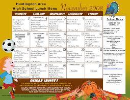 menu templates f n menu calendar templates 25 lunch menu