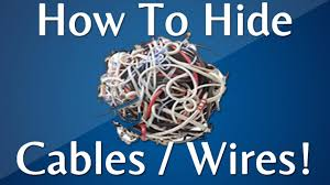 Messy Wires by How To Hide Cables Wires And Cords Internet And Tv Youtube