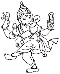 ganesh ji sketch cliparts co
