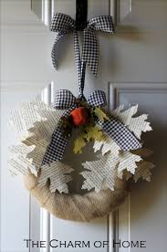 124 best decorating with burlap images on pinterest autumn