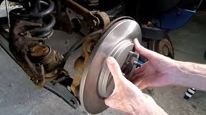 dodge journey rear brake replacement youtube