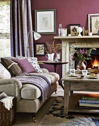 Grey And Purple Living Room Curtains by Spectacular Country Living Room Ideas Living Room Brown Plain