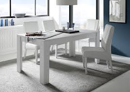 Table Ronde Extensible Blanche by