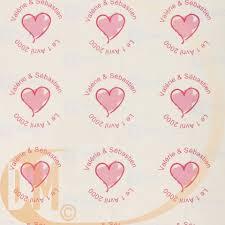 etiquettes mariage étiquettes rondes transparentes imprimées x24 achat etiquette