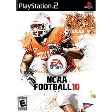 Backyard Football Ps2 by Ncaa Football 10 Playstation 2 Walmart Com
