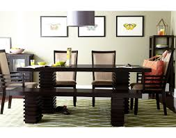 American Signature Dining Room Sets The Paragon Collection Merlot And Camel American Signature