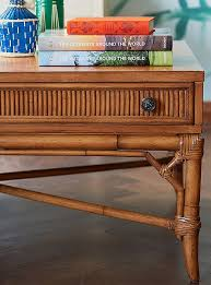 Rattan Coffee Table Materials Guide Decorating With Wicker Raffia And Rattan
