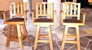 Bar Stool With Back Bar Stools With Backs And Swivel Bar Stool Swivel Wood Medium Size