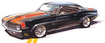 chip foose camaro revell big scale 1 12 chip foose 1969 camaro z 28 factory sealed