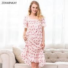 online get cheap short cotton nighty plus size aliexpress com