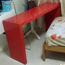Malm Occasional Table Ikea Ikea Malm Occasional Table Red For Single Bed Home U0026 Furniture