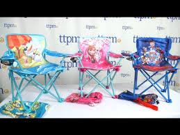 Disney Princess Armchair Disney Frozen U0026 Paw Patrol Fold N U0027 Go Chairs From Kids Only Youtube