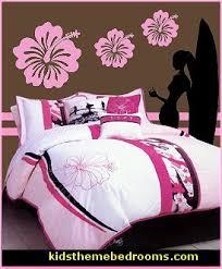Roxy Room Decor Beach Theme Bedroom Girls Surfing Beach Bedroom Decorating Ideas
