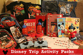 travel packs images Make a special disney trip activity pack for the kids travel jpg