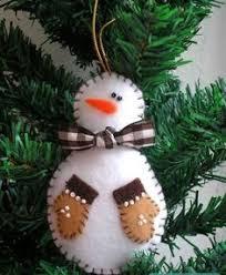 felt snowman sewing project felt snowman