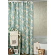 Neutral Shower Curtains Sea Creature Shower Curtain Neutral Shower Curtain With White Sea