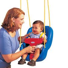 Swinging Baby Chairs 2 In 1 Snug U0027n Secure Swing Blue At Little Tikes