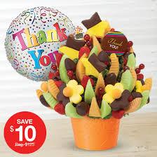 edible fruits basket thank you gifts fruit arrangements bouquets edible arrangements