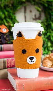 best 25 coffee sleeve ideas on pinterest felt crafts felt and
