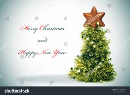 sentence merry christmas happy new year stock photo 110982500