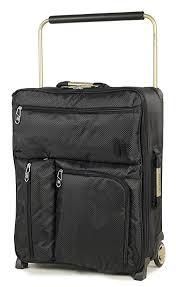 lightest cabin bag it luggage world s lightest 55cm max cabin suitcase black