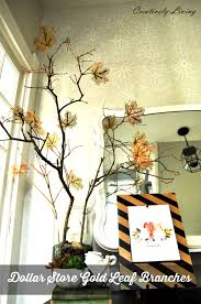 fall branch décor for around 2 creatively living blog