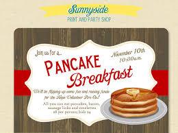 22 wonderful breakfast invitation templates free u0026 premium