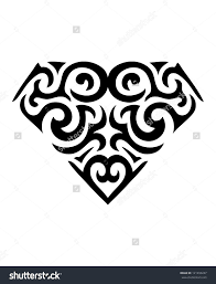 cool diamond symbol tattoo design just cool tattoos pinterest