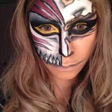 halloween mask makeup bleach hollow mask halloween makeup tutorial