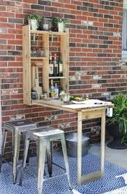 wall mounted patio table steal this look late spring picnic wall mount pallets and bar