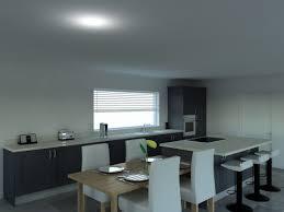 classic contemporary kitchen design hand painted in dark grey