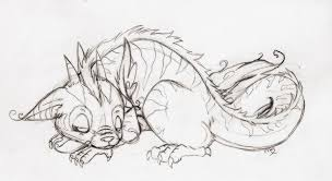 baby dragon sketch by ix demyx ix on deviantart