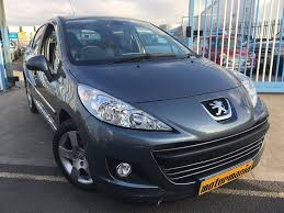 peugeot 207 used peugeot 207 hatchback 1 6 hdi sport 5dr in stockton on tees